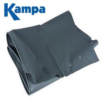 "KAMPA Caravan Dual Fix Awning Draught Skirt 70cm (28"") Limpet Fixings Points."